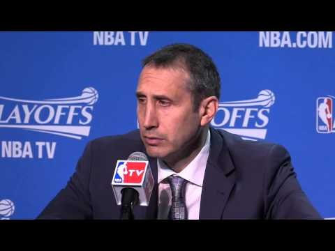 What David Blatt said after the Cleveland Cavaliers win over the Bulls in Game 2