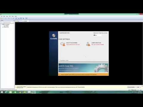 Installing CentOS 7 In VMWare Workstation 10