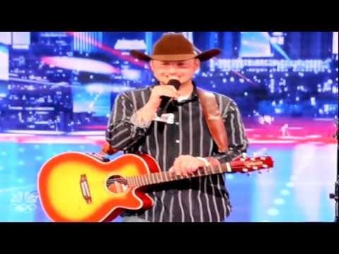 War Vet Tim Poe Sings at America's Got Talent Audition in Austin, TX [6.4.2012]