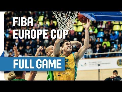 BC Astana (KAZ) v AEK (CYP) - Full Game - Group K - FIBA Europe Cup