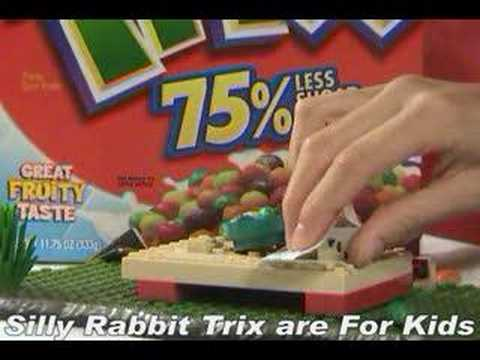 Silly Rabbit Trix Are For Kids Youtube