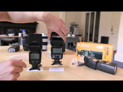 Flash Review : Gloxy F990 vs Nikon SB-900 vs Yongnuo 565ex