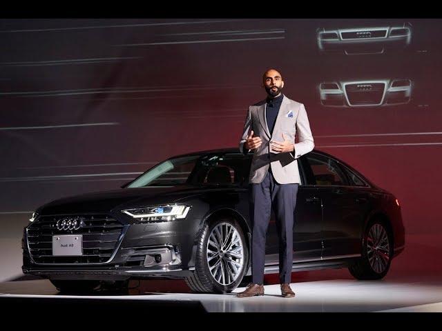 《Audi A8 / A7 Sportback Press Conference》AUDI AG エクステリア デザイナー アマール ヴァヤによるプレゼンテーション
