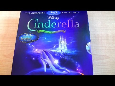 Disney Cinderella blu-ray unboxing review Diamond Edition 3-...