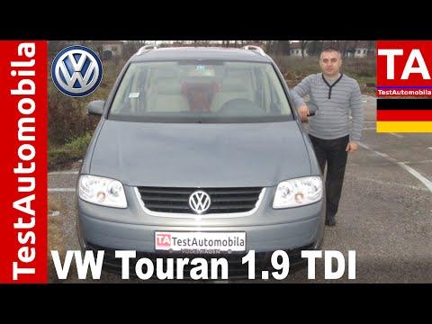 VW Touran 1.9 TDI 2004 - TEST