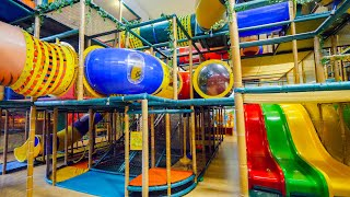 Indoor Playground Fun for Kids at Busfabriken Soft Play Center