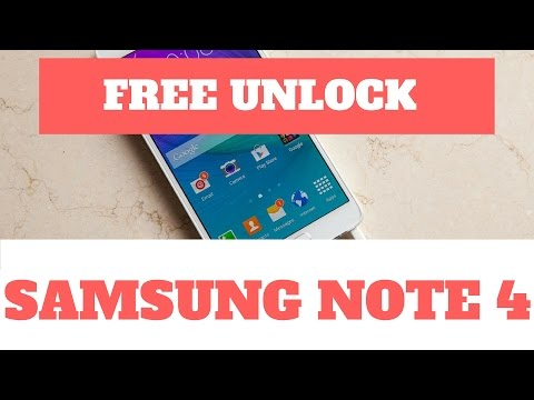 Unlock samsung note 4 free - unlock samsung galaxy note free (note 3. 4. 5 & 7)