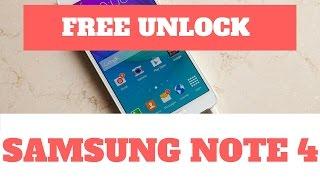 Unlock samsung note 4 free - unlock samsung galaxy note free (note 3, 4, 5 & 7)