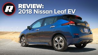 2018 Nissan Leaf Review: An affordable EV, hype not included