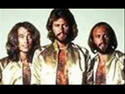 saturday night fever - bee gees with lyrics
