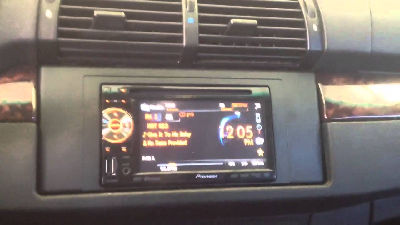 Bmw X5 E53 Double Din Touchscreen Ipod Iphone Bluetooth