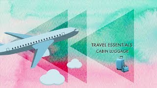 My Travel Essentials//Flying With British Airways|How To Graphic Design