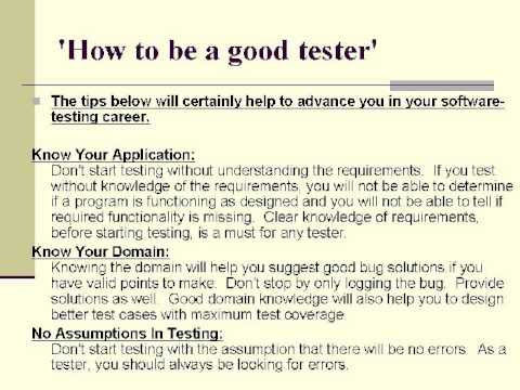 Software Testing Part 4  Diff between black and white box testing and how to be a good tester