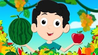 Fruits Song | Learn Fruits | Nursery Rhymes From Oh My Genius