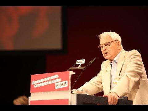 Leipziger Parteitag: Rede von Hans Modrow, Vorsitzender des Ältestenrates