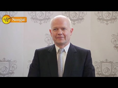 The Rt Hon William Hague MP formally opens Nishkam Primary School