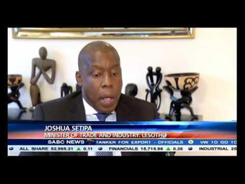 Lesotho's Minister of Trade, Joshua Setipa to visit SA in May