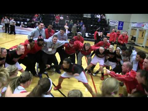 Central Maine Community College WBB Pregame- 2014 USCAA Basketball National Championships
