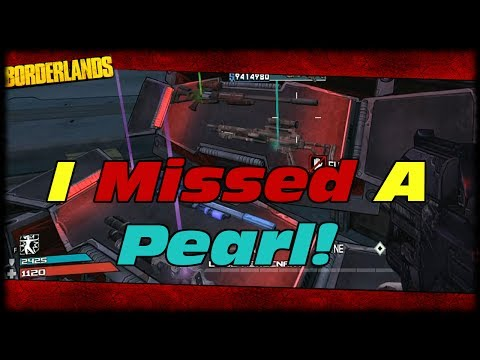 Borderlands Another Pearl Drops On Livestream & I Almost Miss It! Twitch Chat Saves The Day!