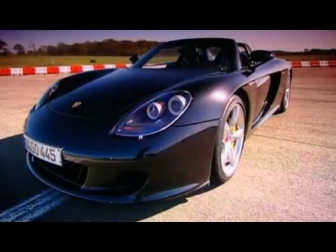 Porsche Carrera GT Car Review - Top Gear - BBC