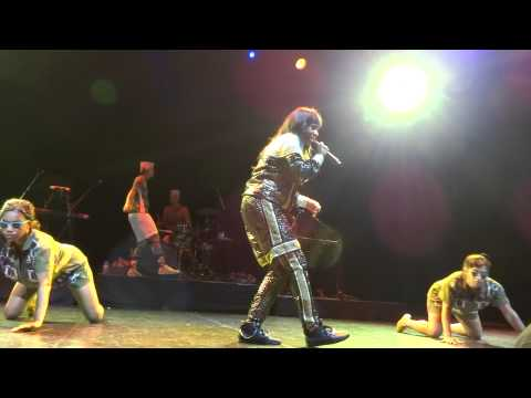 Santigold 'Big Mouth' at Club Nokia in Los Angeles on 6/1/12