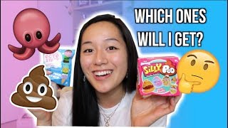 10 BLIND BOXES! Puni Maru Octostacks & SillyPoo Squishies