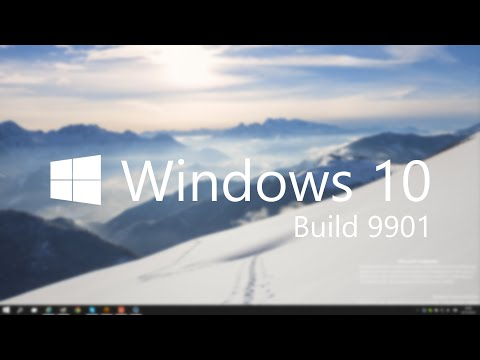 Windows 10 Build 9901 - Updated Taskbar UI / Modern Apps, Cortana + More!