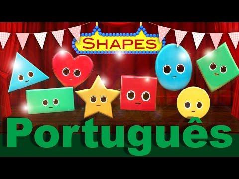 A Canção das Formas | canções infantis | LittleBabyBum