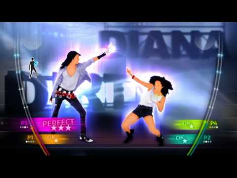 Michael Jackson : The Experience   Dirty Diana trailer (2010) Microsoft Kinect Playstation Move