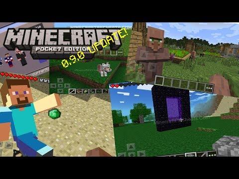Minecraft PE: 0.9.0 UPDATE