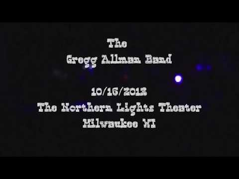 The Gregg Allman Band - The Northern Lights Theater - 10/16/2013