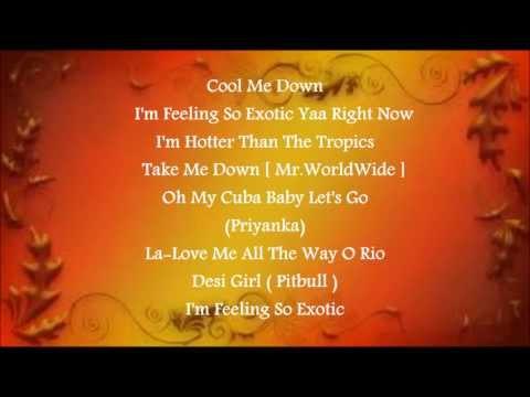 Exotic- Priyanka Chopra Ft.Pitbull Lyrics