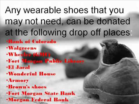 Fort Morgan Middle School Holoaust Shoe Project