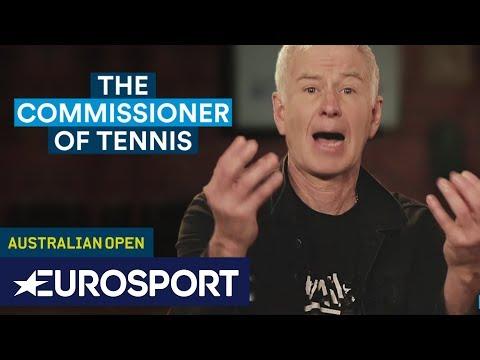 The Commissioner on Grunt-Gate | John McEnroe aka The Commissioner of Tennis | Eurosport