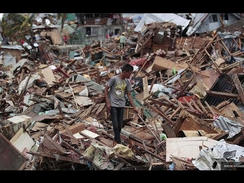 PHILIPPINES: THOUSANDS FEARED DEAD AS TYPHOON HAIYAN CAUSES
