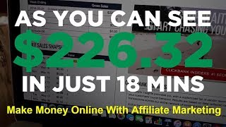 Make Money Online With Affiliate Marketing | Clickbank- How To Make $200 In 20 Minutes Daily