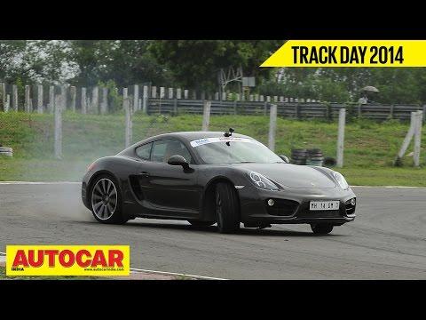 Autocar Trackday 2014 With Narain Karthikeyan | Porsche Cayman S | Autocar India