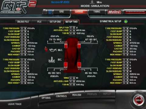 Audi R8 Gtr2. gtr2 setup guide part 2