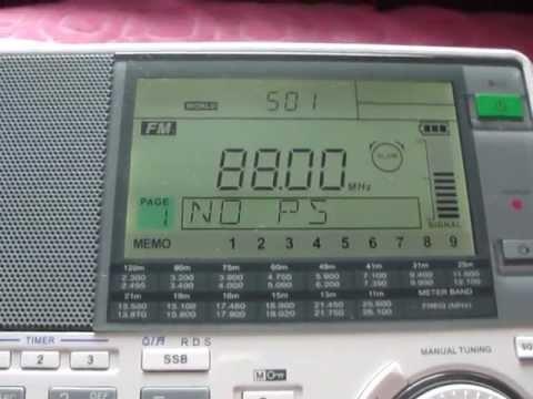 Radio Foorti 88 MHz FM Dhaka, Bangladesh - Sangean ATS909X 24 May 2012
