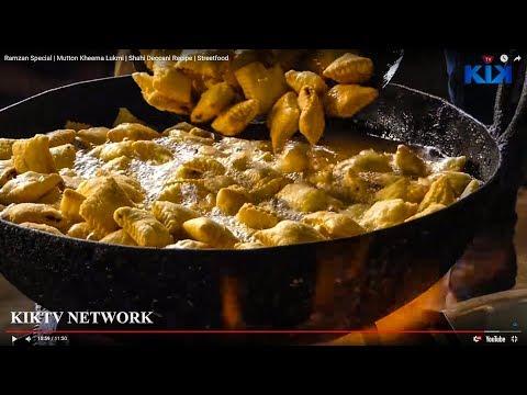 Ramzan Special | Mutton Kheema Lukmi | Shahi Deccani Recipe | Streetfood