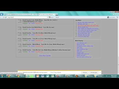 Como Descargar Musica Gratis Sin Programas.wmv