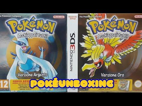 Pokémon Oro e Argento Unboxing e primi minuti di gioco