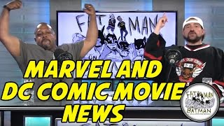 MARVEL AND DC COMIC MOVIE NEWS
