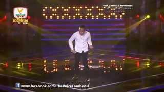 The Voice Cambodia - Live Show 1 - សម្រែកបេះដូង - វ៉ាន់ ផល្លី