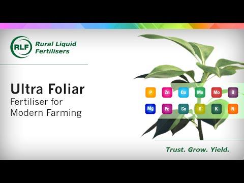 Ultra Foliar - Fertiliser for Modern Farming
