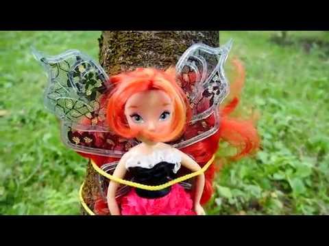 Видео с игрушками: фея Винкс в беде! Игрушки Майнкрафт.