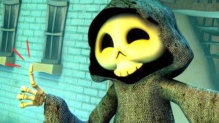 Zombie Dumb | 좀비덤 | Skull And Hana Team Up! | Rage of Skull | Kids Cartoon | Videos For Kids