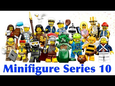 LEGO Series 10 Minifigures 71001 Review & Hints for Finding Mr. Gold