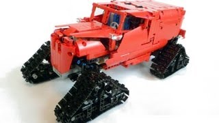 Lego Technic IR RC Tucker Sno-Cat