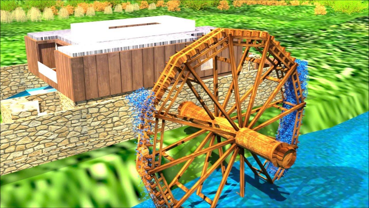 Casa campestre bomba de engranajes y molino de agua youtube for Piscina molino de viento y sombrilla